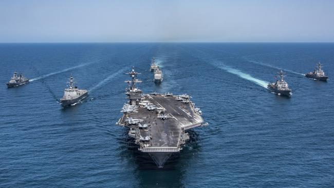 Trump North Korea Armada Nuclear War